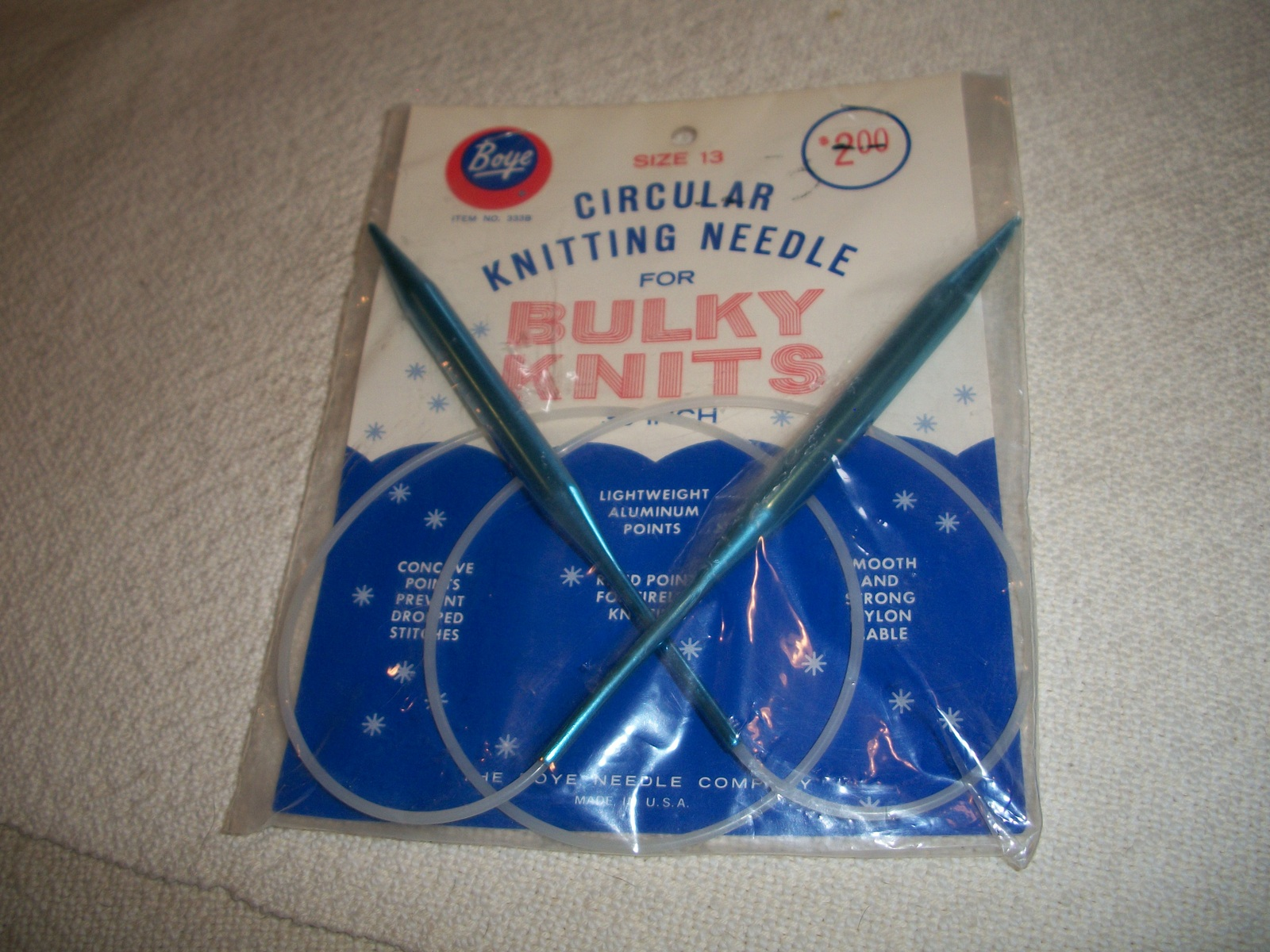 Circular Knitting Needles Size 13 - $5.00