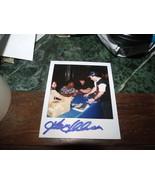 GARRETT ANDERSON HAND SIGNED POLAROID PHOTO ANGELS BASEBALL - $9.50