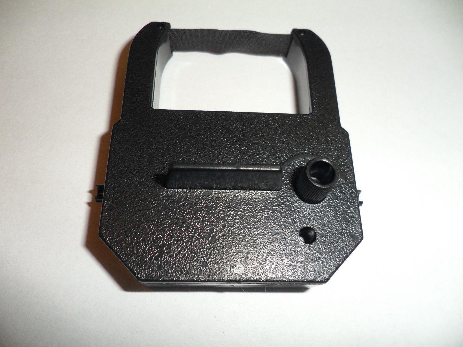 Widmer T4U WTV Time Clock Ribbon Time Recorder Ribbon Black (2 Pack)