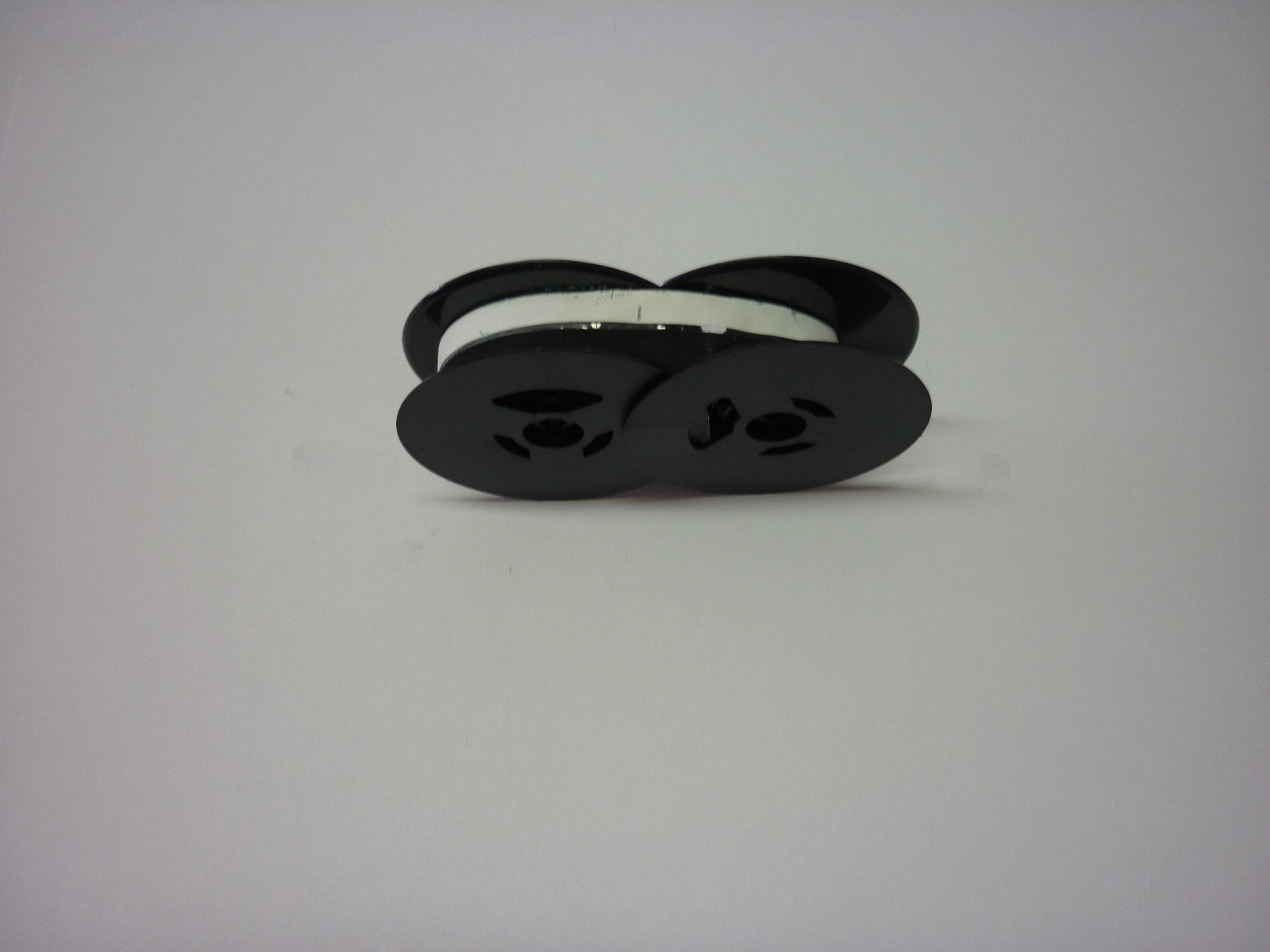 Underwood 555 Standard Typewriter Ribbon Black and White Correcting Twin Spool
