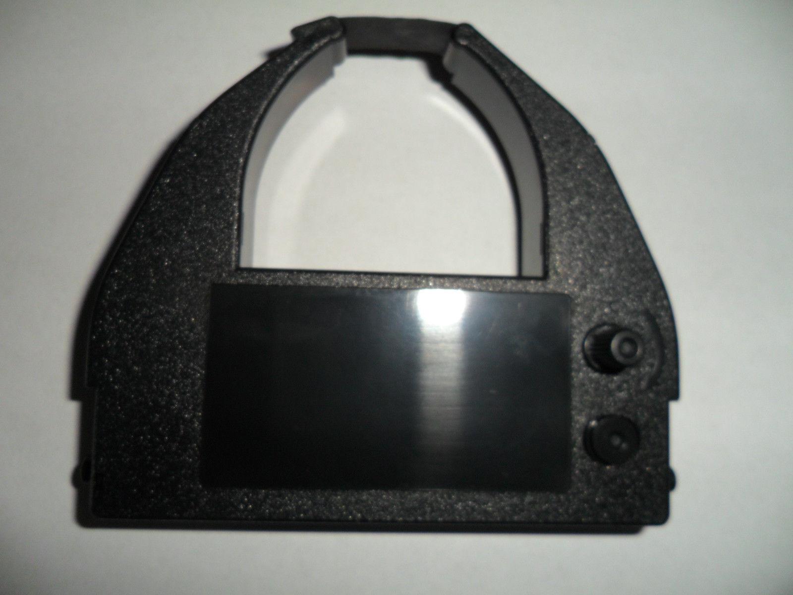 Amano MJR8000N/MJR8150 Time Clock Ribbon Black (2 Pack) Replaces C-872404