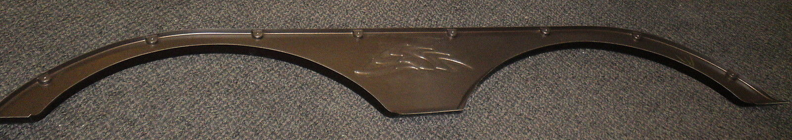 "RV Bronze Tandem Axle Fender Skirt Size: 11"" X 67"" #MTF-0105"