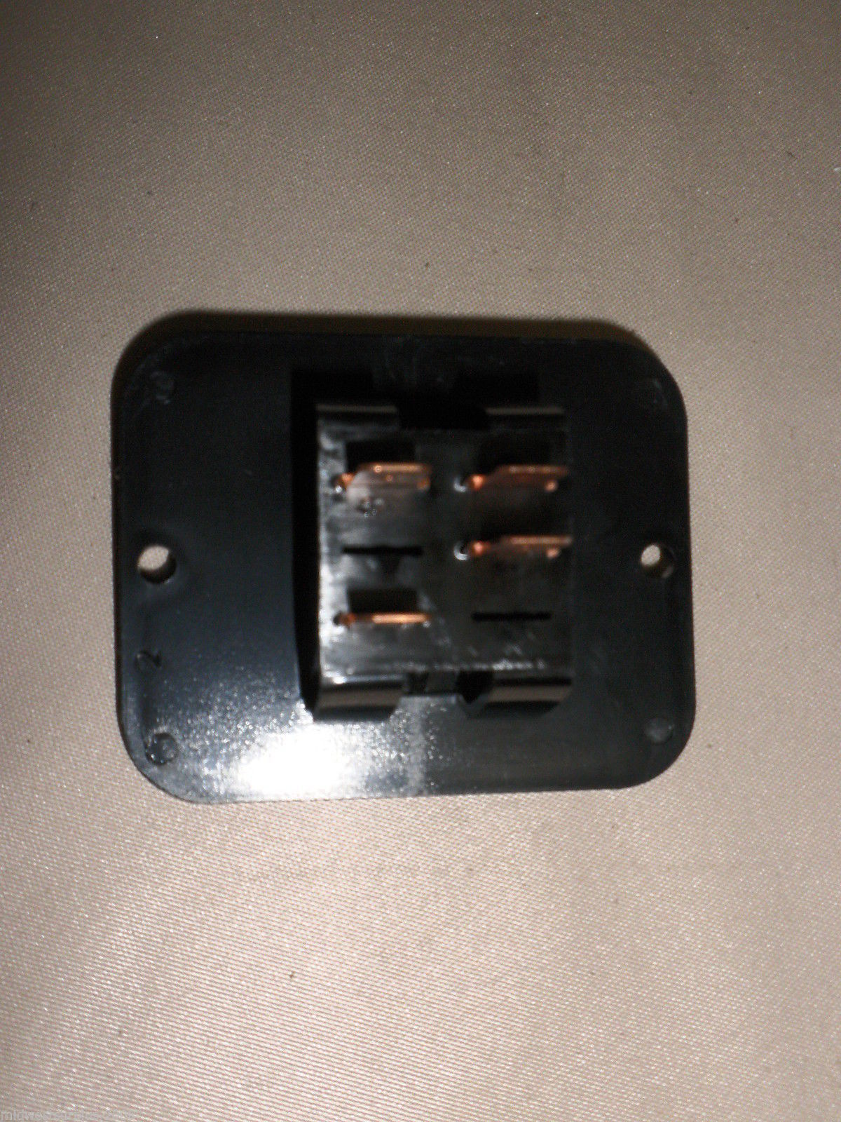 Atwood / Carling Black On / Off Switch With Light Indicator