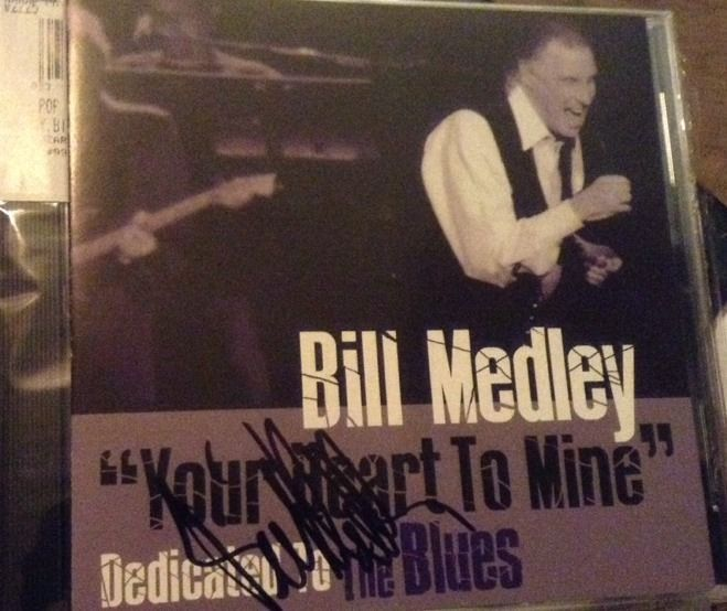 Your Heart to Mine: Dedicated to the Blues [3/25] SIGNED by Bill Medley CD