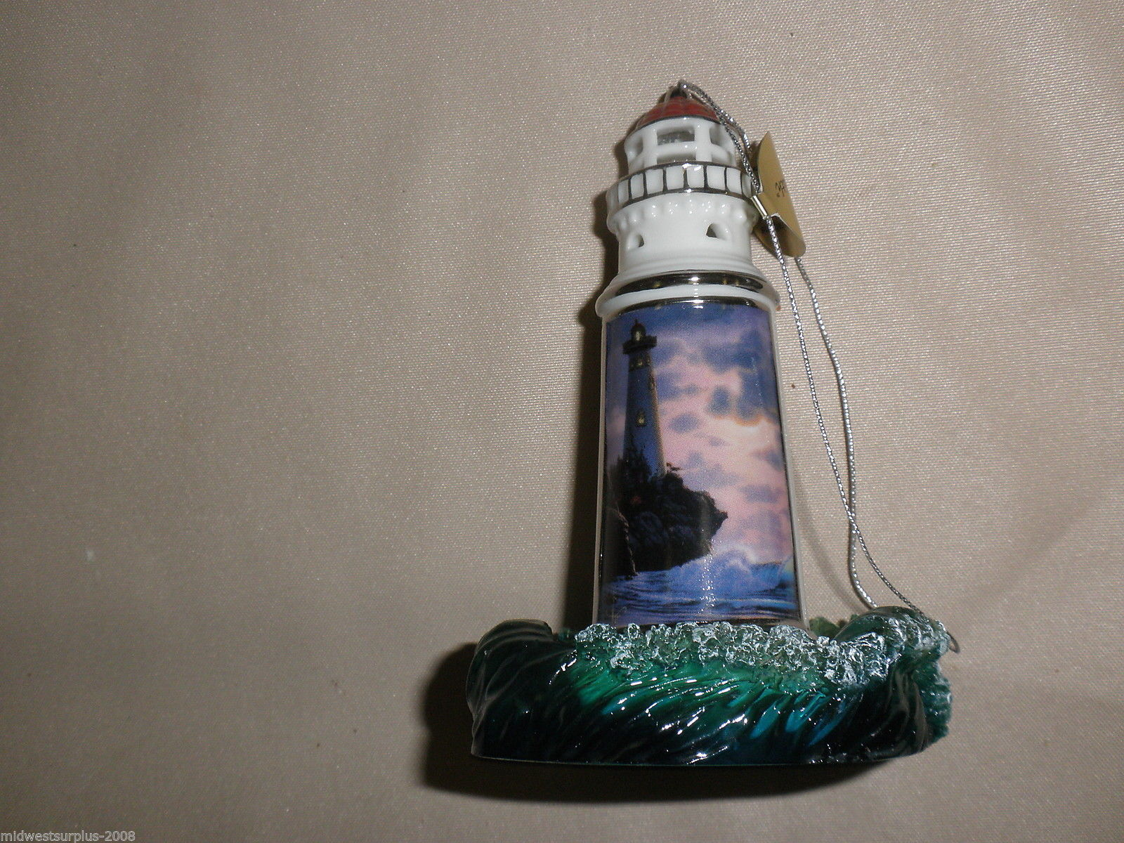 Bradford Edition 2nd Issue Seaside Inspiration Heirloom Ornaments (3) #88842