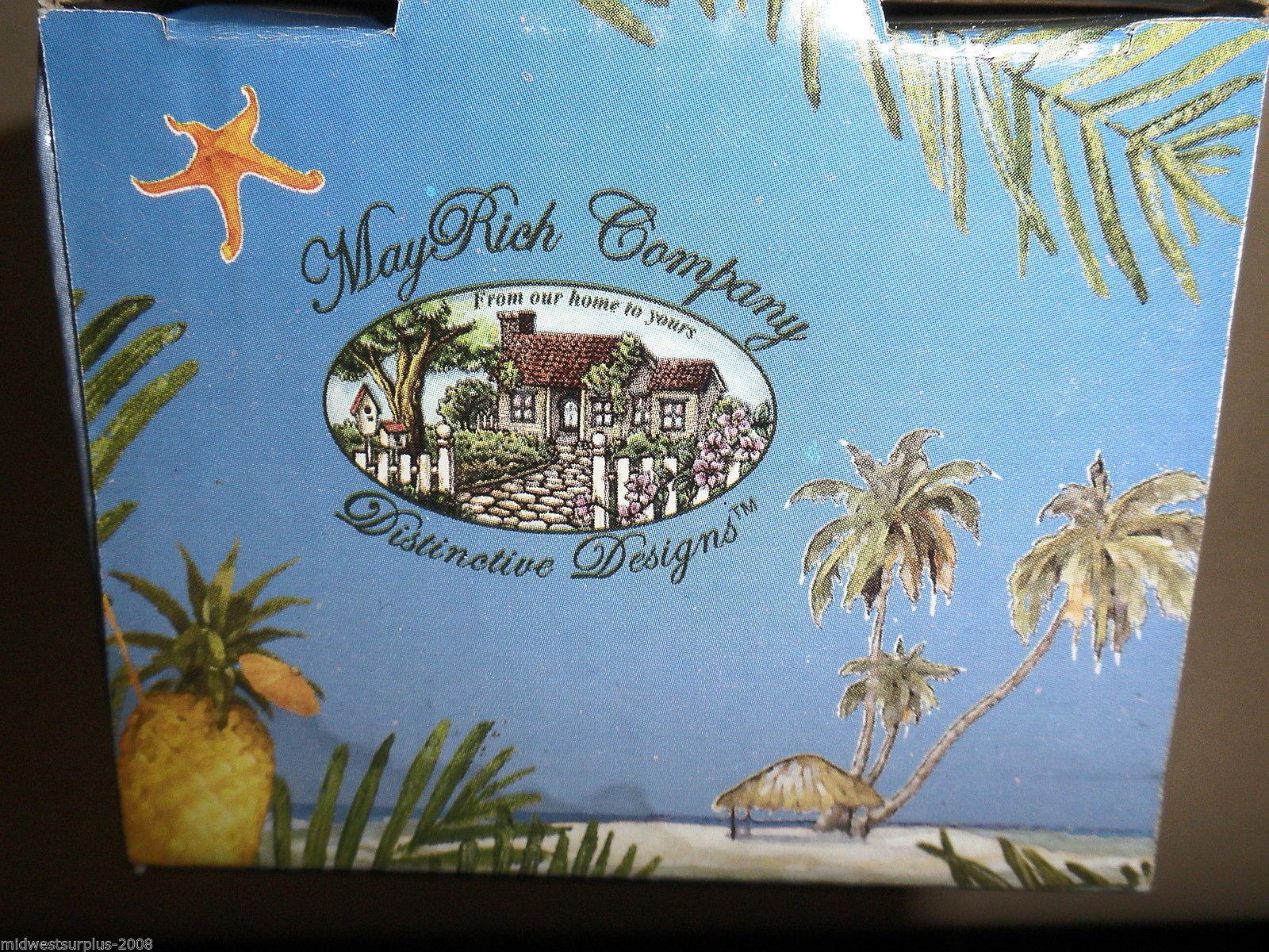 MayRich Company Seaside Beach Chair / Crab Wind Chime #5342-4