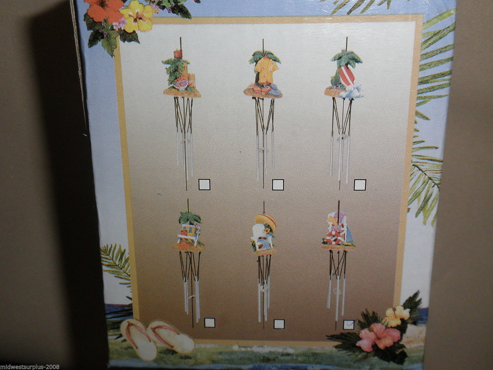 MayRich Company Seaside Life Guard Chair Wind Chime #5342-6