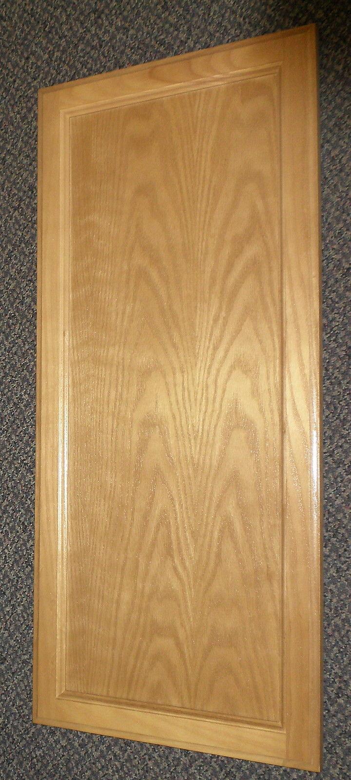 """Solid Wood Panel Cabinet Door Size: 13 7/8"""" X 31 5/8"""" X 3/4"""""""