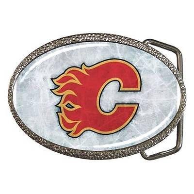 Calagary Flames Belt Buckle - NHL Ice Hockey