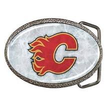 Calagary Flames Belt Buckle - NHL Ice Hockey - $9.64