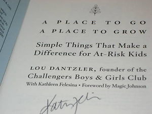 A Place To Go, A Place To SIGNED by Kathleen Felesina