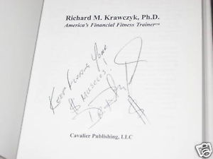 Financial Aerobics SIGNED by Dr. Richard M. Krawczyk