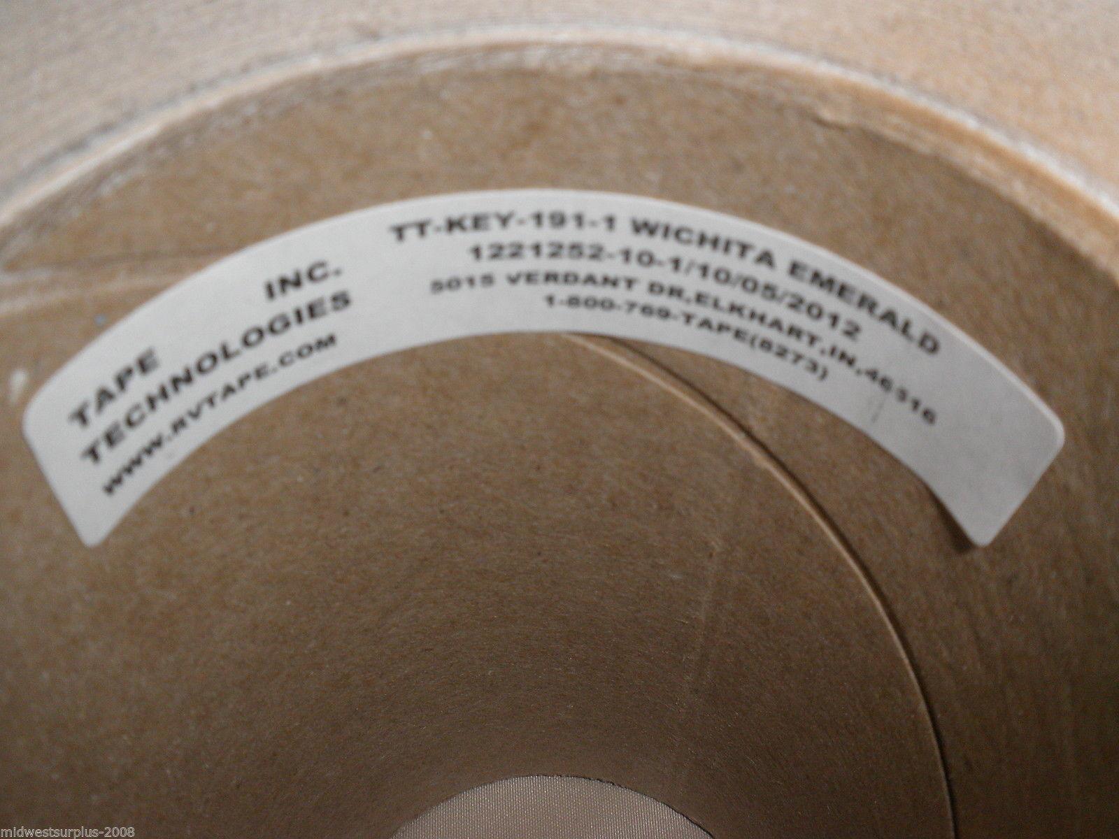 "Tape Technologies Keystone Witchita Emerald 6"" X 150' Wallpaper Border#12212521"