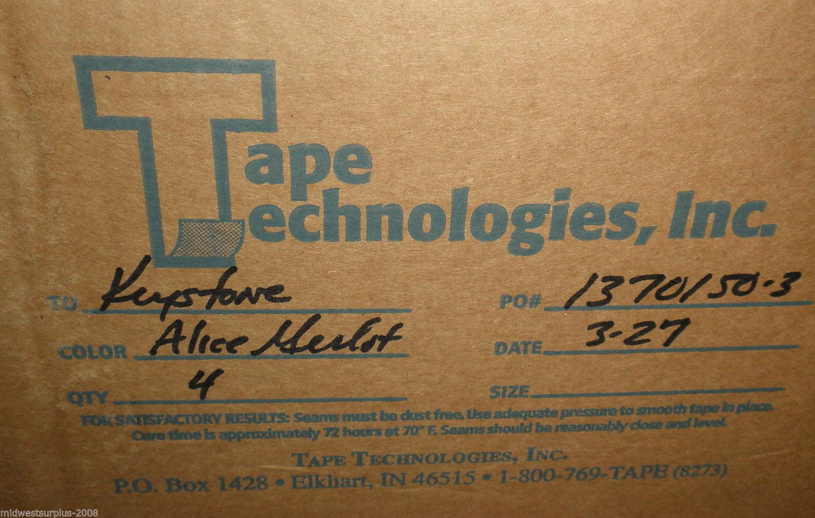 "Tape Technologies / Keystone Alice Merlot 6"" Self Adhesive Wallpaper Border"
