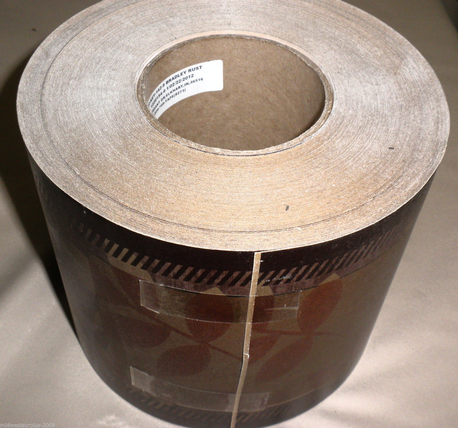 "Tape Technologies / Keystone Bradley Rust 6"" Self Adhesive Wallpaper Border"