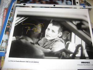 LORI PETTY HAND SIGNED 8X10 MOVIE STILL GLASS SHIELD