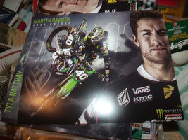 MARTIN DAVALOS HAND SIGNED 8X10 KAWASAKI PHOTO CARD  - $9.50