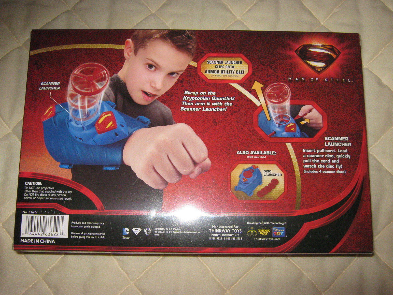 Super Man Gaunlet launcher