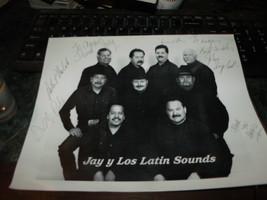 Jay Palomino y Los Latin Sounds HAND SIGNED 6X BAND PHOTO 8X10 - $37.30