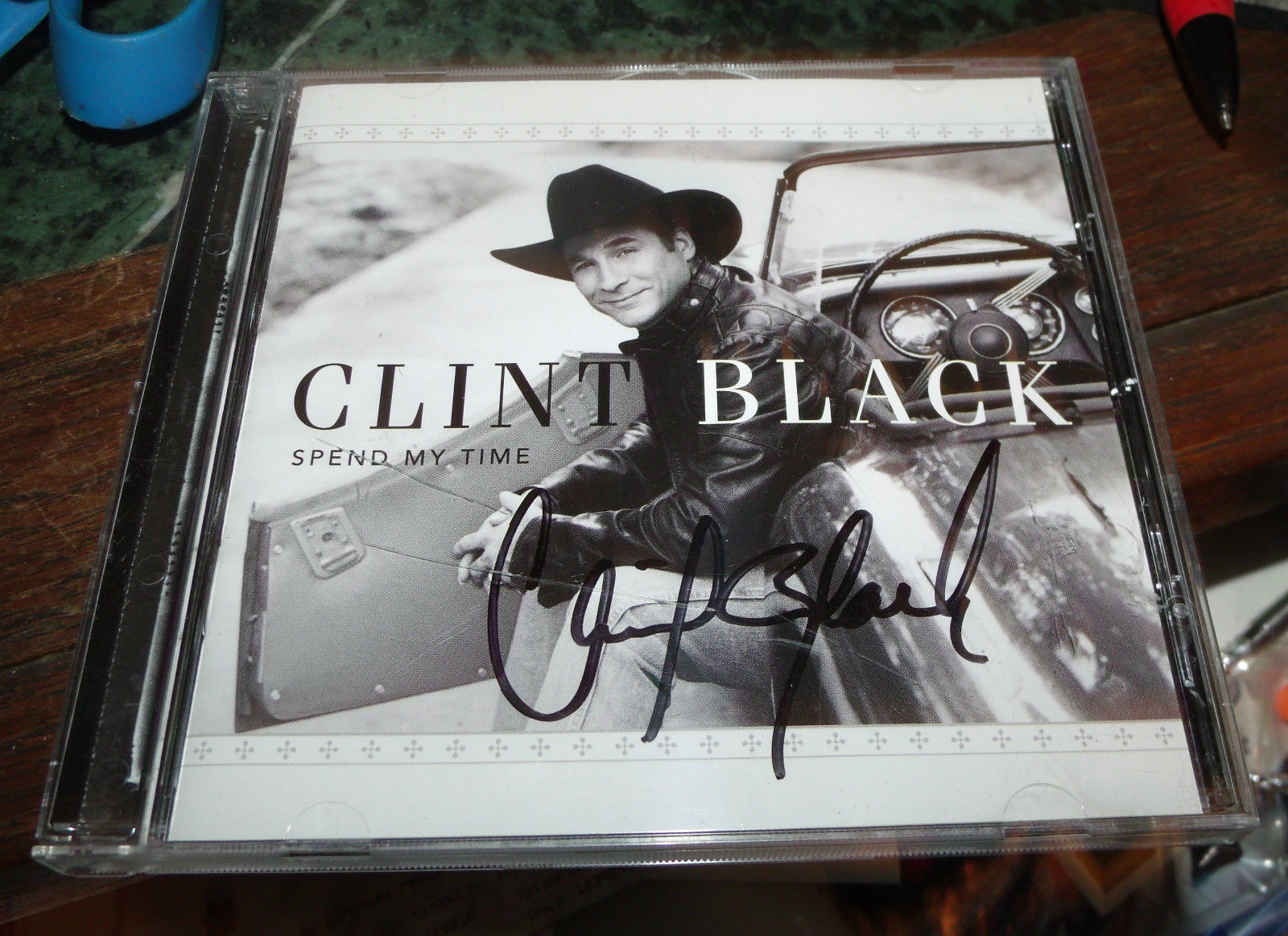 Spend My Time SIGNED by Clint Black (CD, Mar-2004, Equity Music Group)