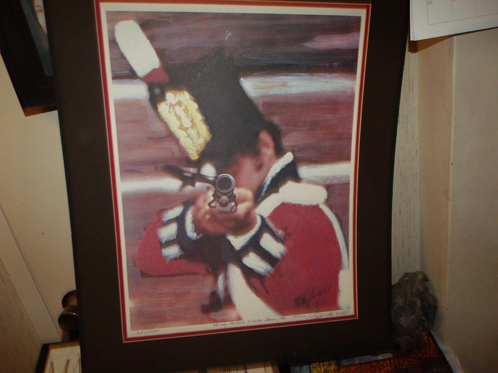 EVEL KNIEVEL LIMITED EDITION SIGNED LITHOGRAPH