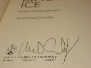 The Black Ice SIGNED by Michael Connelly 1993 ARC RARE