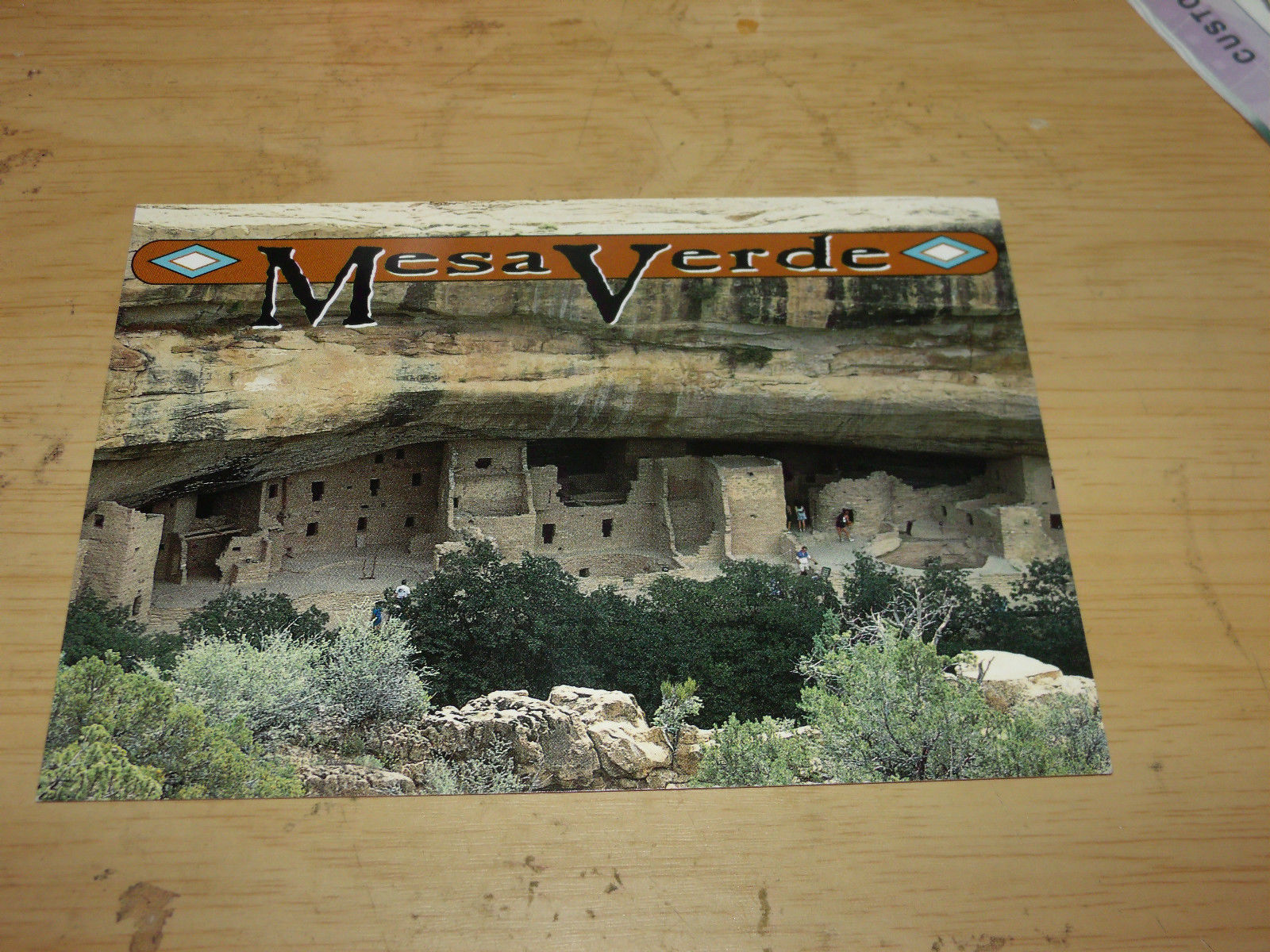 MESA VERDE NATIONAL PARK UNUSED POSTCARD