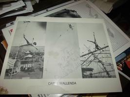 Carla Wallenda The Flying Wallendas HAND SIGNED 8X10 PHOTO - $74.72