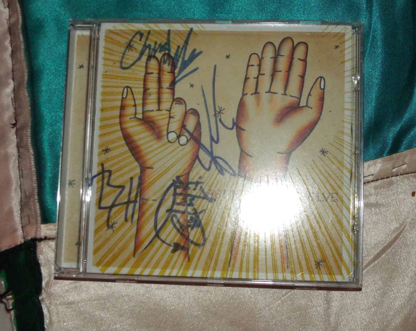 Resolve BAND SIGNED 4X by Last Tuesday (CD, May-2005, Mono Vs. Stereo)