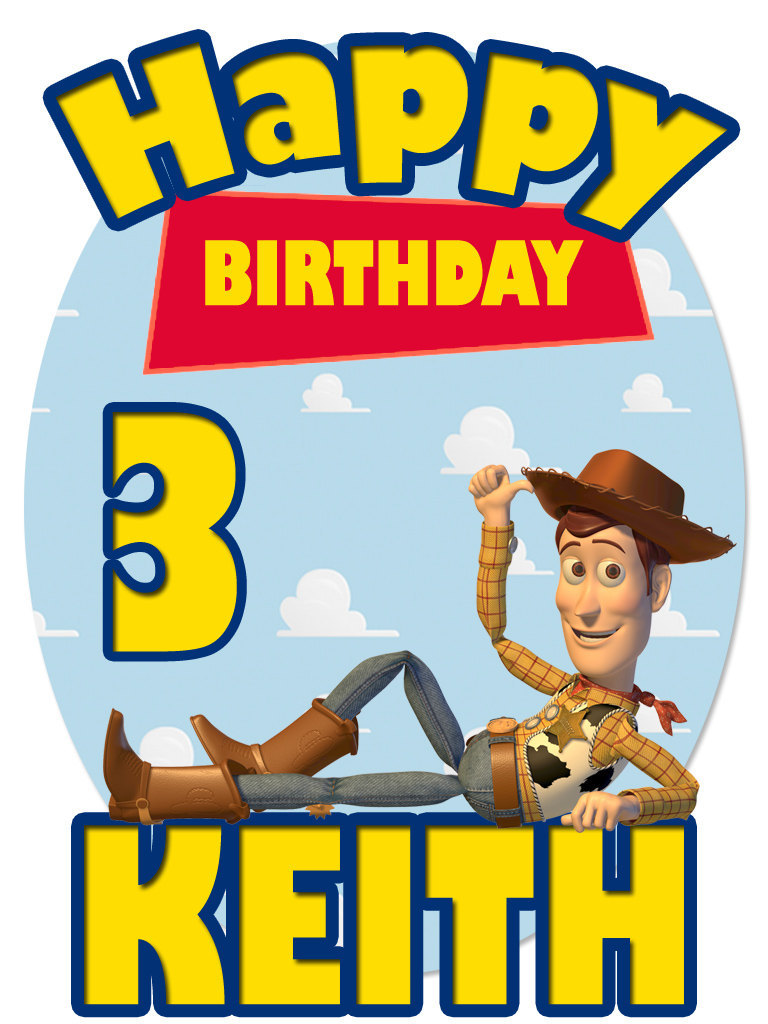 Personalized Birthday T-shirt *NEW* Toy Story Woody Birthday/Party Gifts for sale  USA