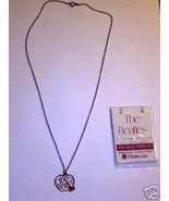 BEATLES LOVE SONGS 77 Japanese Promo Necklace with Card - $282.15