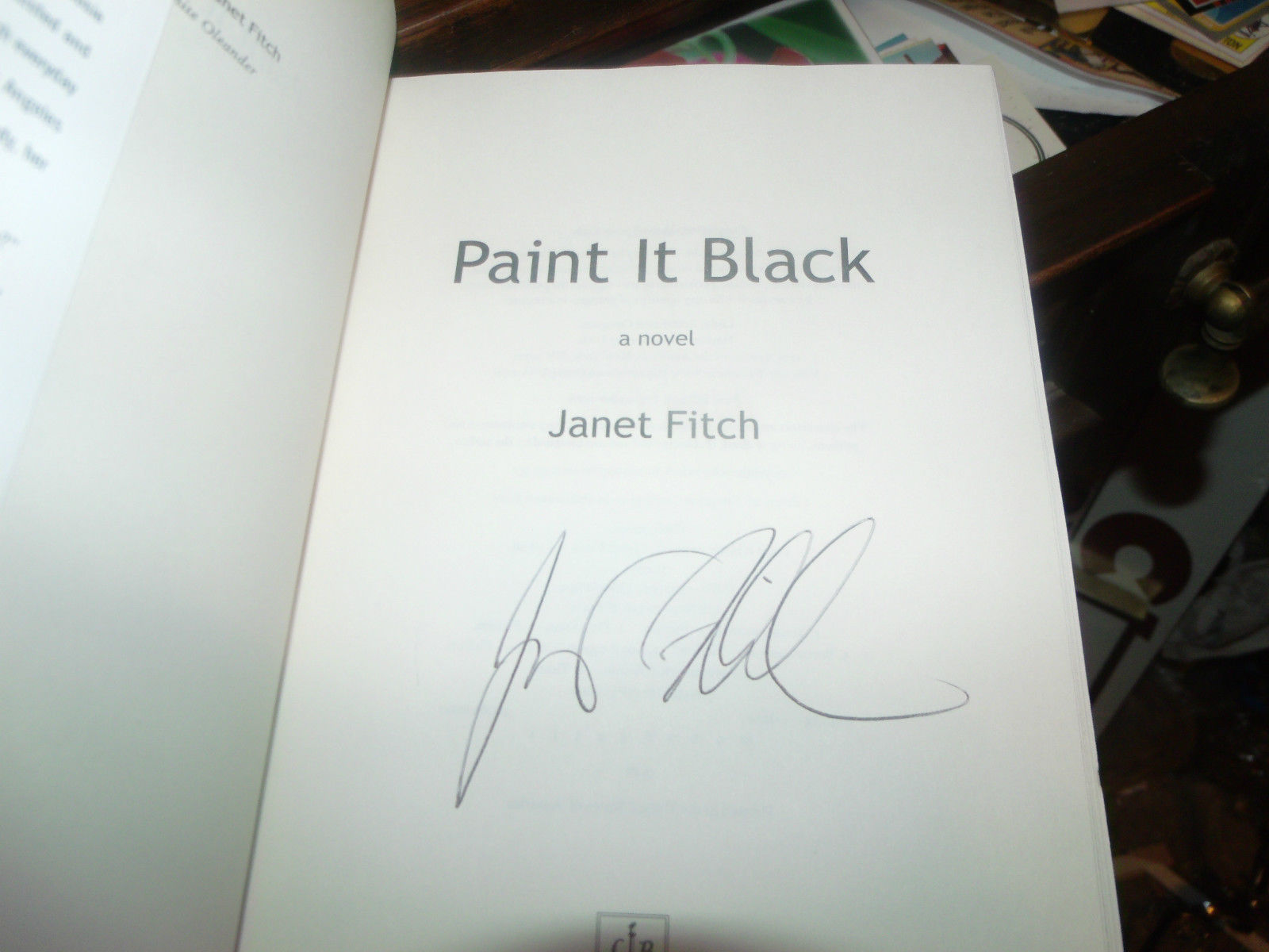 a literary analysis of paint it black by janet fitch Buy the paperback book paint it black by janet fitch at indigoca, canada's largest bookstore + get free shipping on fiction and literature books over $25.