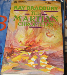 The Martian Chronicles BY RAY BRADBURY Audio Cassette
