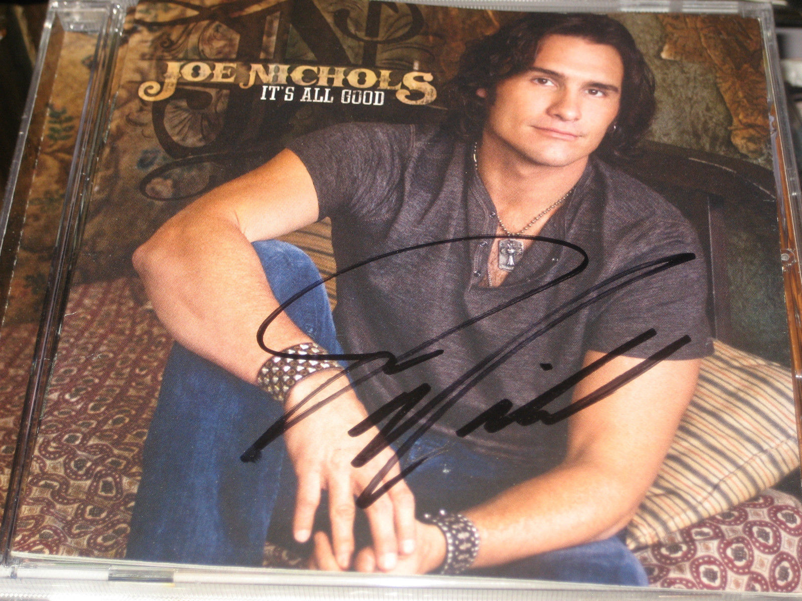 It's All Good SIGNED by Joe Nichols (CD, Nov-2011, Humphead)