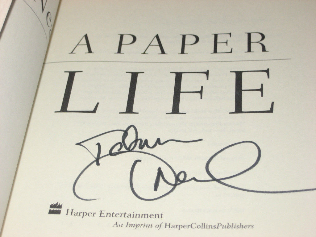 A Paper Life SIGNED by Tatum O'Neal 1ST/1ST (2004, Hardcover)