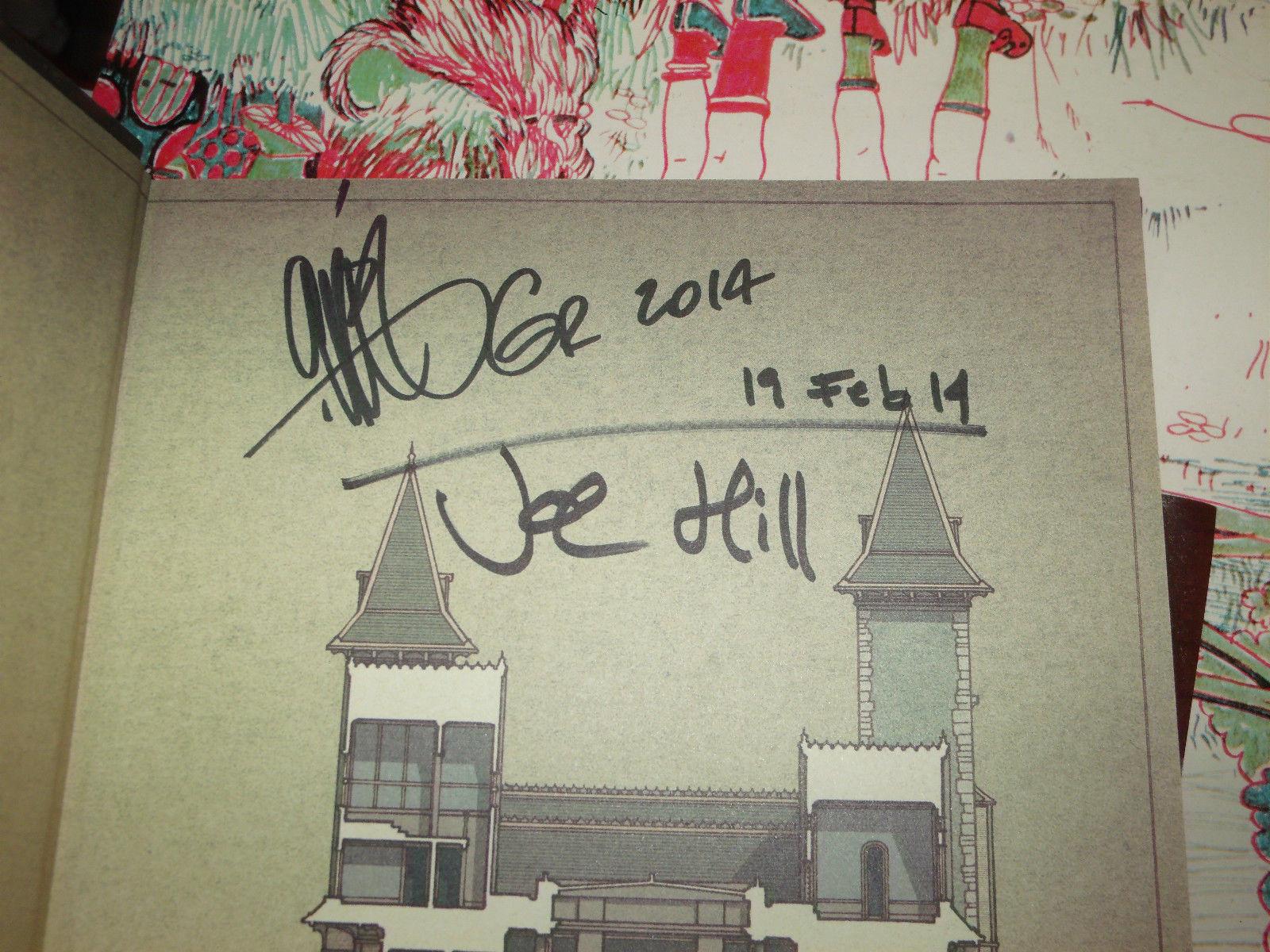 LOCKE & KEY ALPHA & OMEGA SIGNED DATED BY JOE HILL & GABRIEL RODRIGUEZ 1ST/1ST