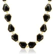 Genuine Belleza Hexagonal Black Onyx and Brass ... - $110.04