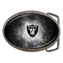 Oakland Raiders Zinc Belt Buckle - NFL Football - $9.64