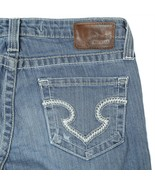 Big Star Remy Medium Wash Low Rise Bootcut Denim Jeans Womens 30L 30x32 - $34.54