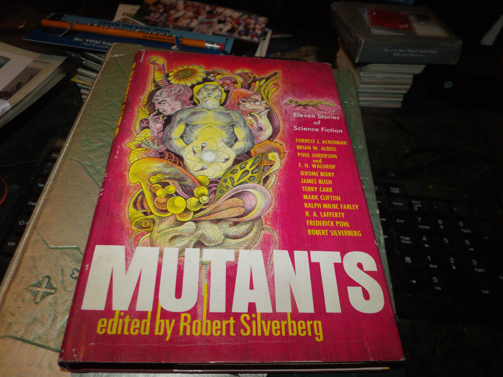 MUTANTS SIGNED BY FOREST J ACKERMAN BCE BOOK CLUB 1974