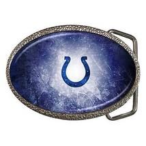 Indianapolis Colts Zinc Belt Buckle - NFL Football - $9.64