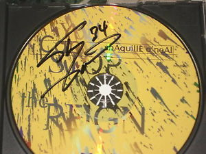SHAQ SIGNED YOU CANT STOP THE REIGN CD SIGNED 2X