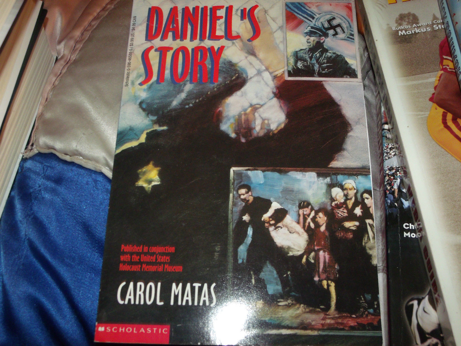 Daniel's Story SIGNED & LINED BY Carol Matas 1ST/1ST SOFTCOVER