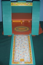 Vintage Fisher Price #990 Play Family A-Frame Comp. w/Wooden LP/EXC++-NEAR MT! image 4