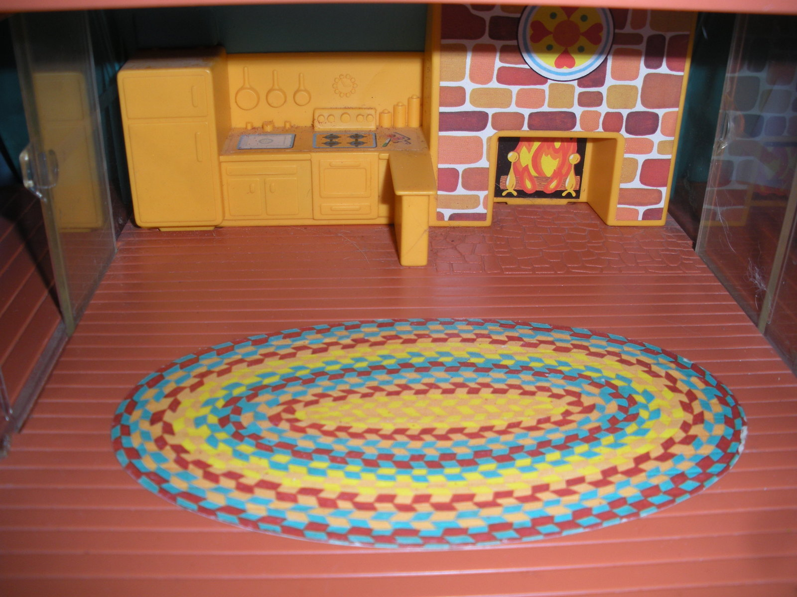 Vintage Fisher Price #990 Play Family A-Frame Comp. w/Wooden LP/EXC++-NEAR MT! image 5