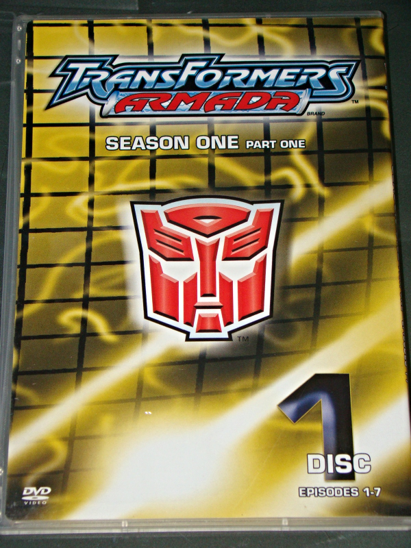 (DVD) Anime - TRANSFORMERS ARMADA - SEASON ONE - PART ONE (DISC 1 EPISODES 1-7)