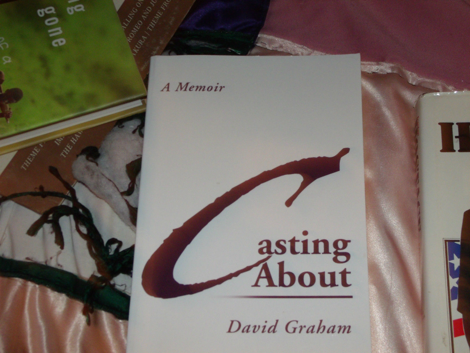 Casting About SIGNED by David B. Graham (2007, Paperback)