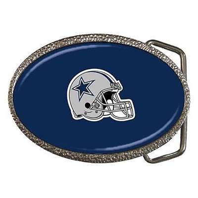 Dallas Cowboys Chrome Finished Belt Buckle - NFL Football