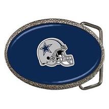 Dallas Cowboys Chrome Finished Belt Buckle - NFL Football - $9.64