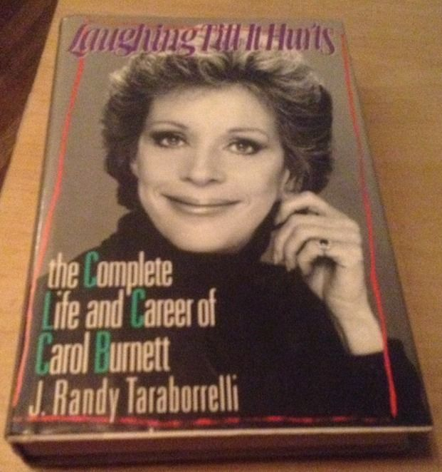 LAUGHING TILL IT HURTS SIGNED BY J RANDY TARABORRELLI 1ST/1ST